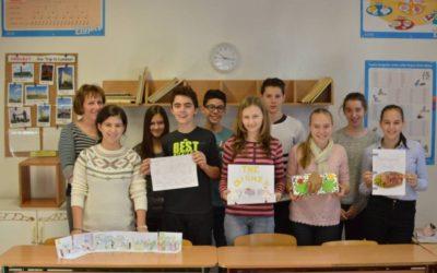 Hálaadási-napi projekt a nyolcadikosokkal
