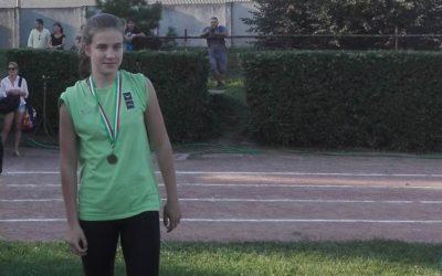 Tehetségkutató atlétika verseny 1. hely