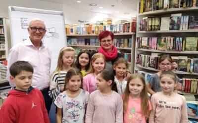 """Ifj. Richard """"Huck"""" Scarry októberben magyar gyerekekkel találkozott"""