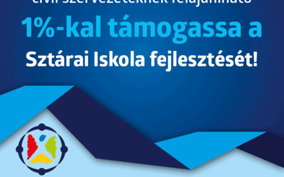 Sztárai Iskoláért Alapítvány jogosult lett az 1% fogadására